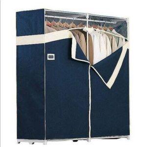New Rubbermaid Tall Portable Closet Wardrobe